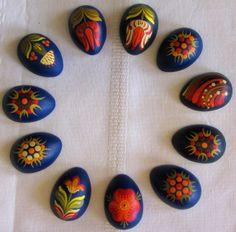 Magnets, half-egg styled.