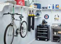 Storage for the garage or any room of the house