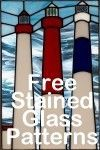 New Jersey Lighthouse Stained Glass Panel