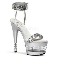 Stripper Heels Store - PLEASER - 7 Inch Lined Platform Sandal With  Ankle Band, $53.99 (http://www.stripperheelsstore.com/pleaser-7-inch-lined-platform-sandal-with-ankle-band/)