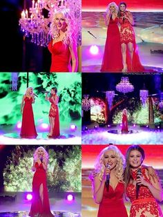 Christina Aguilera and Jacquie Lee