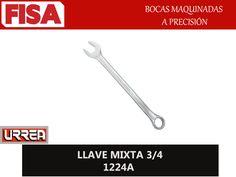 LLAVE MIXTA 3/4 1224A. Bocas maquinadas a precisión- FERRETERIA INDUSTRIAL -FISA S.A.S Carrera 25 # 17 - 64 Teléfono: 201 05 55 www.fisa.com.co/ Twitter:@FISA_Colombia Facebook: Ferreteria Industrial FISA Colombia