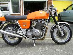 Fichas de motos clásicas: Laverda
