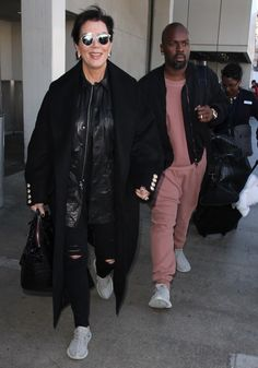 Kris Jenner Sports an Engagement Ring in the Highly Anticipated Adidas Yeezy Boost 350 'Moonrock' Sneakers