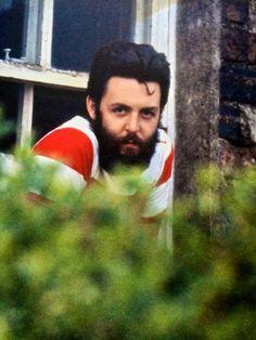 Paul McCartney. Scotland. 1970. Photograph by Linda McCartney.
