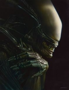 Alien Xenomorph by Greg Staples