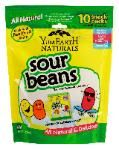 YummyEarth - Sour Beans (Not too sour) SO good!  Juicy and Tasty!  Organic Candy (the only non-vegan items are the bears)