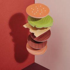 Notizzettel 'Burger' online kaufen | Geschenke.de Online Shop