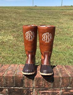 monogram chloe duck boots i love jewelry my style On i love jewelry duck boots