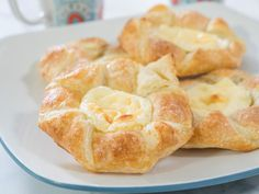 50 Most -Popular Food Network Recipes   Recipes, Dinners and Easy Meal Ideas   Food Network Cream Cheese Puff Pastry, Cream Cheese Danish, Puff Pastry Dough, Frozen Puff Pastry, Puff Pastry Recipes, Danish Recipe Puff Pastry, Cheese Recipes, Puff Pastry Desserts, Cream Cheeses