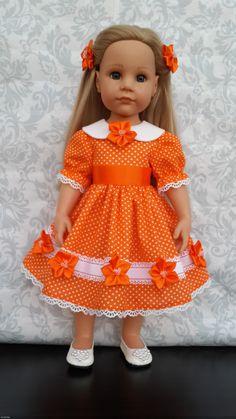 Апельсиновое настроение / Одежда и обувь для кукол - своими руками и не только / Бэйбики. Куклы фото. Одежда для кукол