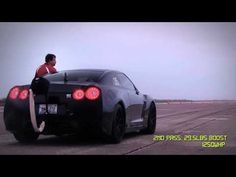 Watch A Nissan GT-R Slide Sideways At 233 MPH