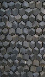 Bath room walls ideas brick 54+ super Ideas #bath Deco Design, Wall Design, Tile Patterns, Textures Patterns, Floor Patterns, Textures Murales, Handmade Tiles, Geometric Wall, New Wall
