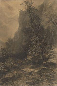 Zádielske skaly by Ľudovít Čordák