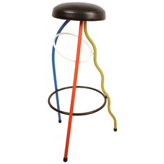 Javier Mariscal Duplex Stool | From a unique collection of antique and modern stools at http://www.1stdibs.com/furniture/seating/stools/