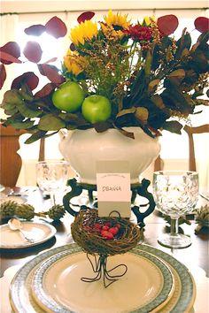 Thanksgiving Table Settings - Refunk My Junk