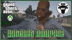 "GTA 5 Online ""GTA V First Person Gameplay Hatchet Rampage"" GTAV Online X..."