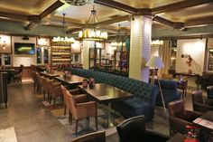 A restaurant project inspired by Ralph Lauren home style