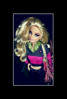 SHE  WILL. ALWAYS  BE  BARBIE .#PhotoGrid