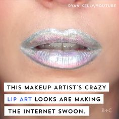 Watch this makeup video to get major lip art inspiration.