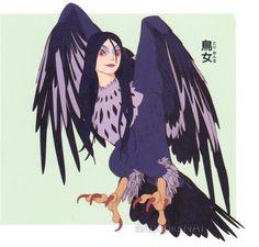 Harpy from Sanzoku no Musume Ronja