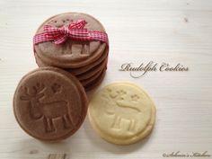 Rudolph Cookies (super Teig für Keksstempel)