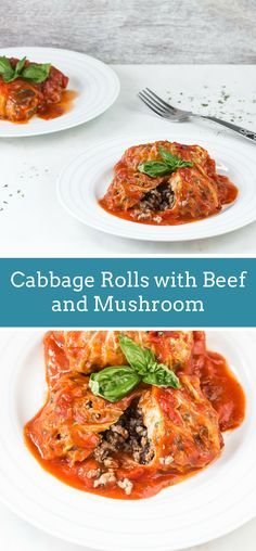 Cabbage Rolls with B