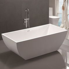 "Found it at AllModern - 59"" x 29.5"" Freestanding Soaking Bathtub"