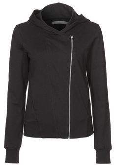 Sweatshirt - black adidas side zip
