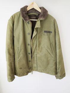 RARE original vintage USN N1 Deck Jacket ww2 US NAVY