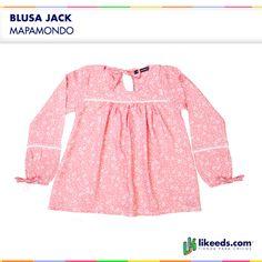 #Blusa Jack de Mapamondo para #Nenas  Para ver talles y comprar ¡Hacé click en la imagen!