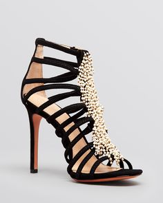 Tory Burch Platform Evening Sandals - Mariel High Heel