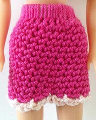 Maggie's Crochet · Doll Skirt - Free Crochet Pattern