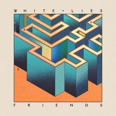 Nieuwe cd van de White Lies. Vrijdag maar even naar Nijmegen  voor een concert.