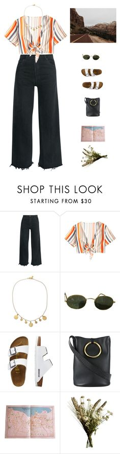 """""""Roadtrip."""" by greciapaola ❤ liked on Polyvore featuring RE/DONE, Electric Picks, Ray-Ban, TravelSmith, STELLA McCARTNEY and Abigail Ahern"""