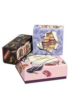 Christian Louboutin & Laduree collaboration! http://www.cartonajessalinas.com/en/blog/brandpackaging-fashion/