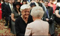 Dame Angela Lansbury's 'Proud Day' With Queen