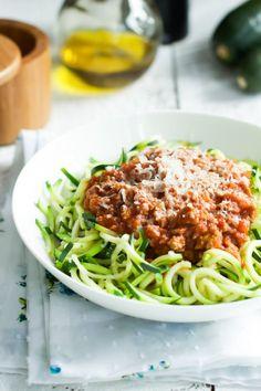 Turkey Bolognese Zucchini Pasta-2