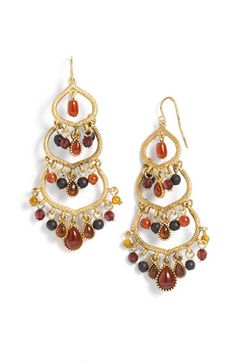 Lauren by Ralph Lauren 'La Mamounia' Bead Chandelier Earrings