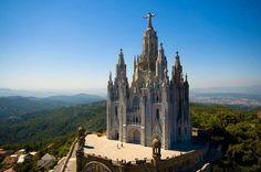 Sacred Heart Temple, Tibidabo, Barcelona