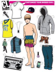 Justin Bieber Auf clatl.com http://www.pinterest.com/nikkidavies229/cutting-edge-paper-dollz/