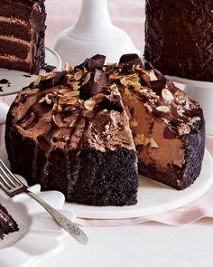 Chocolate Eruption Cheesecake - Neiman Marcus