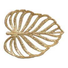 Bloomingville Deco Schaal Bella Rose, Gold Leaf, Leaves, Metal, Products, Beauty Products