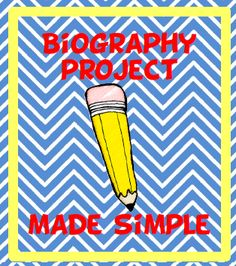 Biography project made simple. Uses writing wallet envelopes for note-taking and organization. 5th Grade Writing, Writing Classes, Kids Writing, Teaching Writing, Teaching Ideas, Fun Classroom Activities, Science Activities, Biography Project, Library Lessons