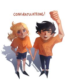 Percabeth, Half Blood, Heroes Of Olympus, Percy Jackson, Art Blog, Congratulations, My Arts, Sketches, Manga
