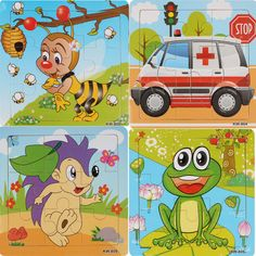 3D Paper jigsaw puzzles for children kids toys brinquedos toys for children Baby toys educational Puzles Free Shipping Vee_Mall