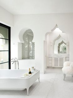 Ideas Bathroom Design Indian Moroccan Style For 2019 Moroccan Bathroom, Tropical Bathroom, Boho Bathroom, Bathroom Styling, Bathroom Interior, Modern Bathroom, Bathroom Ideas, Bathroom Cost, Bathroom Faucets