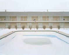 David Wright    Hotel and Pool, Old Orchard Beach, Maine, 2007  Website - http://www.davidwrightphoto.com/