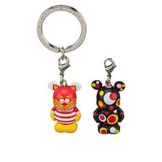 2 Cheshire Cat and Pop Art Version 1-1/2 Vinylmations Alice in Wonderland Vinylmation Jr Keychain Co @ niftywarehouse.com #NiftyWarehouse #Geek #Gifts #Collectibles #Entertainment #Merch