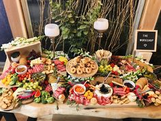 Some of the food you can enjoy at one of our Wine & Dine Charcuterie Board Workshops! Live Edge Furniture, Furniture Design, Charcuterie Board, Table Settings, Workshop, Wine, Dining, Studio, Food